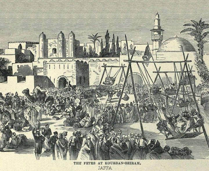 Suasana Lebaran di Yafa Palestin